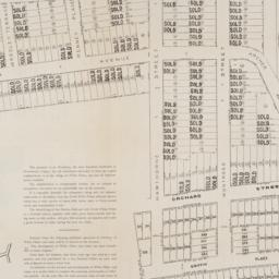 [Cadastral map of the lots ...