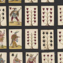 Hand-drawn playing cards