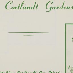 Van Cortlandt Gardens, 140 ...