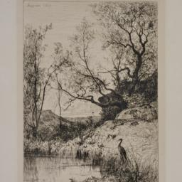 A     Pond near Rossillon