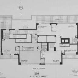 510 E. 86 Street, Plan Of P...