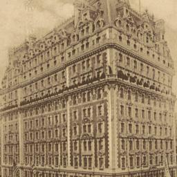 The     Knickerbocker Hotel...