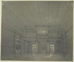 [Clarence H. Mackay House (Harbor Hill), interior]