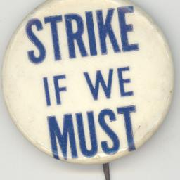 Strike If We Must button