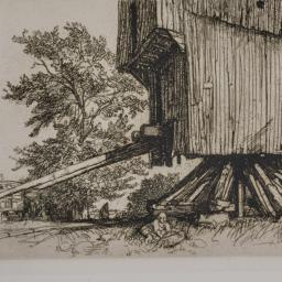 The     Mill in Lidor, Crèv...