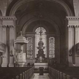 Interior, St. Paul's Church...