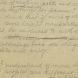 On Praise, 8 April 1920 : a...