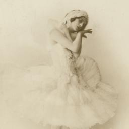 Anna Pavlova Posing as the ...