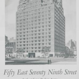 Town House East, 50 E. 79 S...