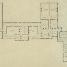 Plan of Second Story of Res...
