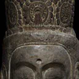 Head of a Bodhisattva