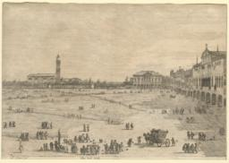 The     Prato della Valle, from the series Views