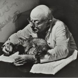 Photograph of Henry Cowell ...