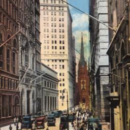Wall Street, Looking West, ...