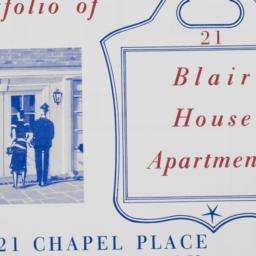 Blair House Apartments, 21 ...