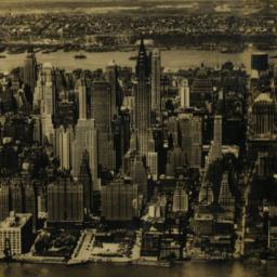 Aerial View of Mid-New York...