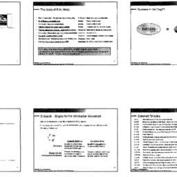 Handouts, 2001-10-08. Organ...