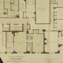 51 Fifth Avenue, Plan Of 4t...