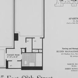 215 E. 68 Street, Apartment I