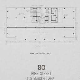 80 Pine Street, Tower Level...