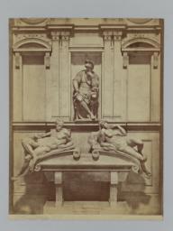 Monument of Lorenzo de Medici by Michelangelo