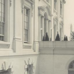 [White House, detail of Wes...