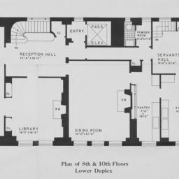 4 Sutton Place, Plan Of 8th...