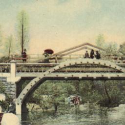 Bridge in Central Park Near...