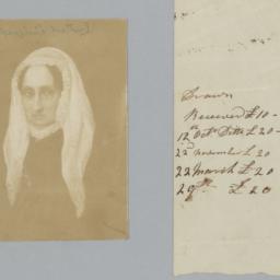 Two Items: Portrait Inscrib...