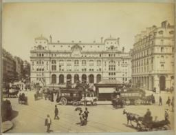 1482 PARIS. -- La Gare Saint-Lazare. X. Phot.