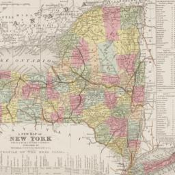 A     new map of New York :...