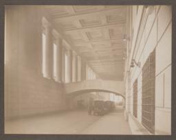33rd Street driveway, showing bridge