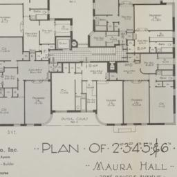 Maura Hall, 2986 Briggs Ave...