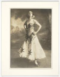 Anna Pavlova Posing in Theater Costume