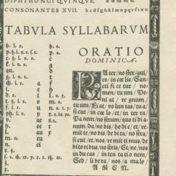 Tabvlae Abcdariae Pveriles