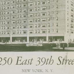 250 East 39th Street: 14 St...