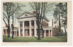 9190. Pavilion X, East Lawn, U. of Va, Charlottesville, VA
