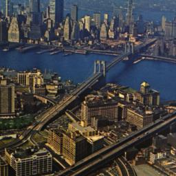 Aerial View of New York Cit...