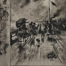 A     Pier in England