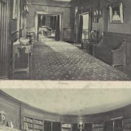 Hall. Library. House at Eas...