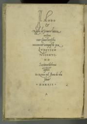 Title page verso