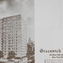Greenwich House, 54 W. 16 S...