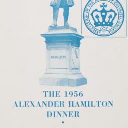 1956 Alexander Hamilton Din...