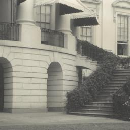 [White House, detail of sta...