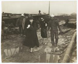 Frances Perkins visit to the Todd Shipyards