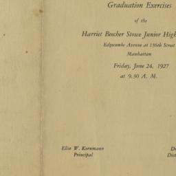 Graduation Exercises of the...