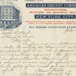 American Grocery Company, l...
