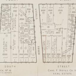 [Cadastral map of the area ...