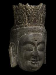 Head of a Bodhisattva, Right 3/4