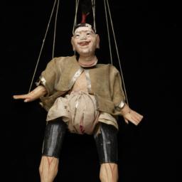 Burmese Marionette Of Male ...